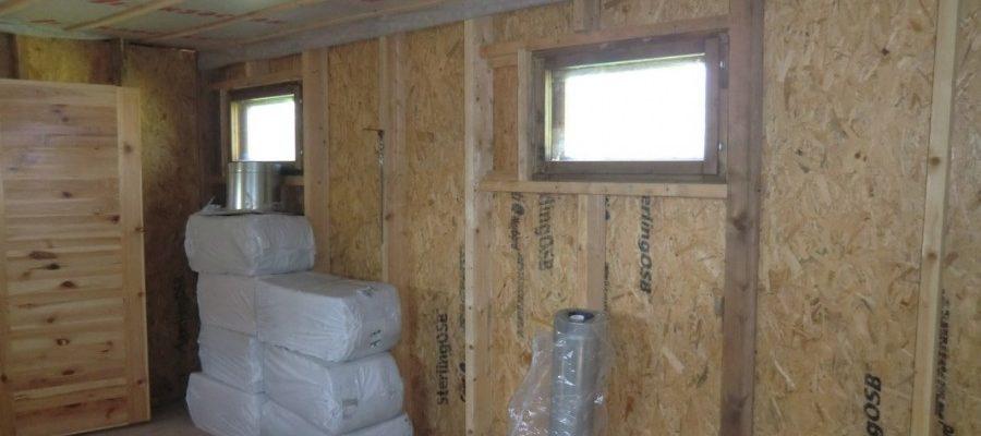 Подходящие материалы для стен при строительстве бани