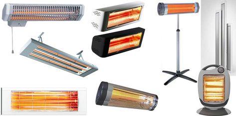 Разнообразие инфракрасных нагревателей