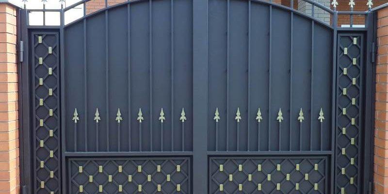 Основные характеристики металлических ворот