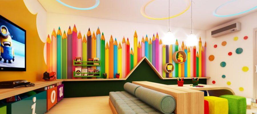 Виды декора игровой комнаты