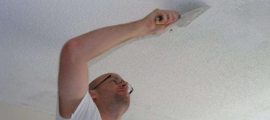 Как смыть побелку и подготовить стену к покраске
