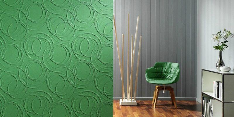 Что выбрать: настенные обои или покраску стен
