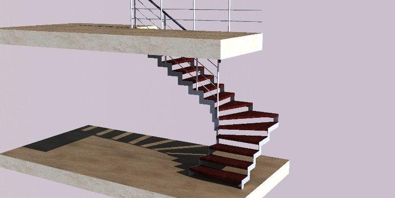 Как спроектировать наружную лестницу