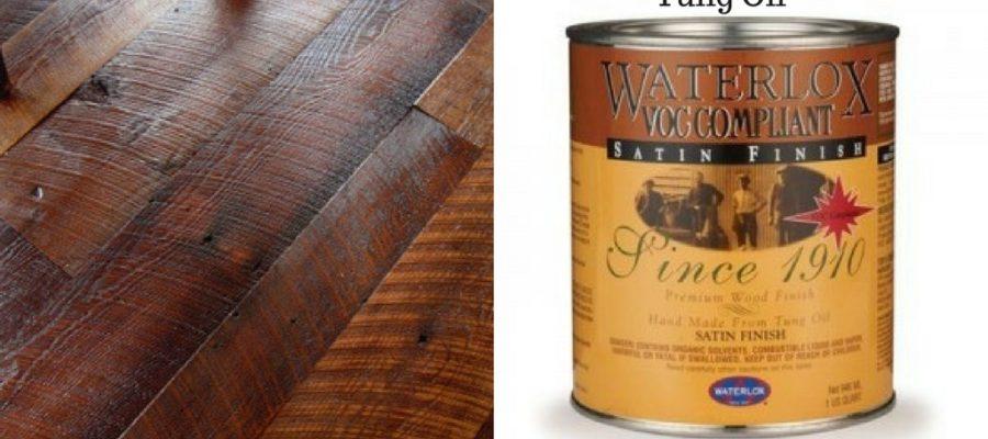 Смесь тунгового масла под названием Waterlox- что такое