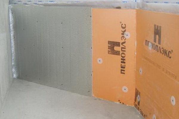 Как утеплить стены комнаты листами пеноплекса