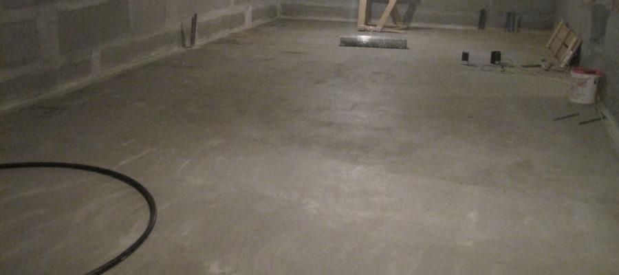 Как сделать водонепроницаемым подвальный пол