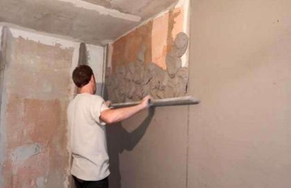 Как самостоятельно выровнять стены в квартире