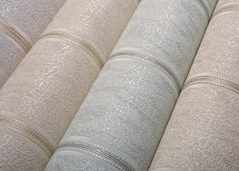 Текстильные обои: виды положительные качества и недостатки