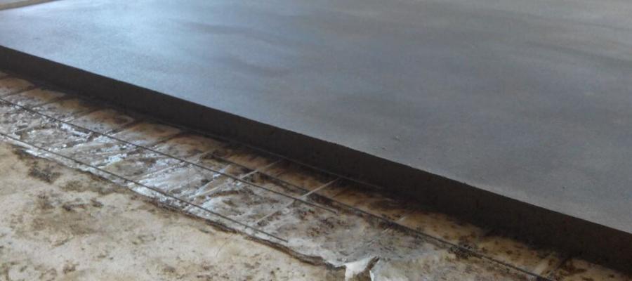 Цементная стяжка шаг за шагом - армирование толщина