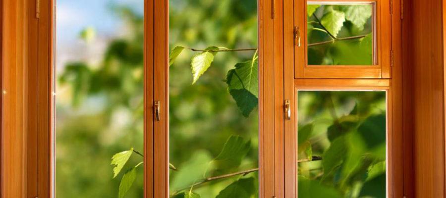 Деревянные окна плюсы