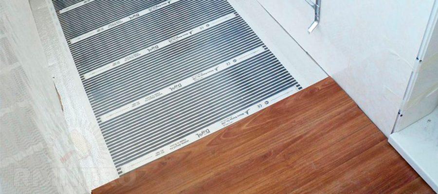 Пленочный теплый пол для балкона