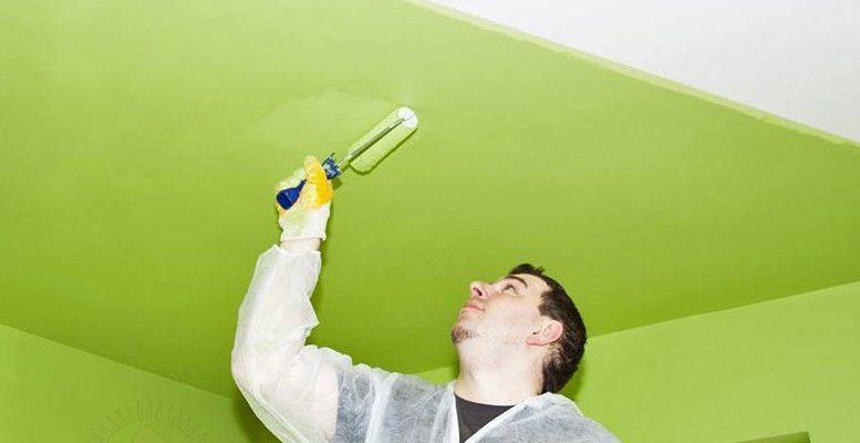 Выбираем краску для потолка