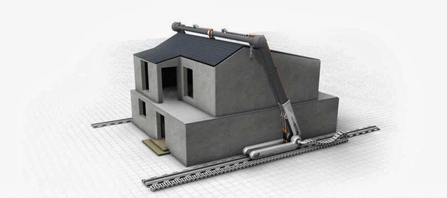 3Д принтер для строительства дома