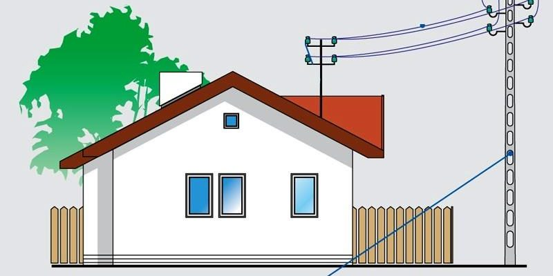 Подключение к электросетям частного дома